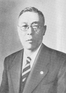 初代組合長 増田吉夫