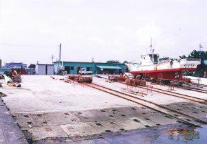49 沿岸小型漁船上架施設完成(新)