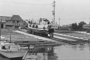 24 沿岸小型漁船上架施設完成