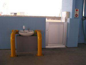 外港6バース 手洗い場