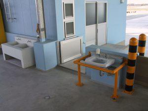 新屋売場 手洗い場